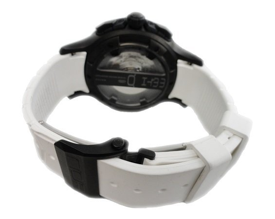 White Steel NOA MMTH Chronograph Watch #MM002 - 2