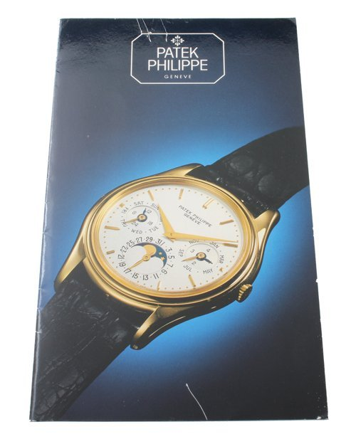 Patek Philippe Perpetual Calendar 3940 Owners Manual