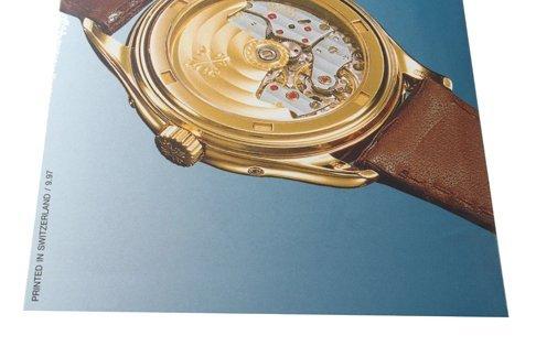 Patek Philippe Annual Calendar 5035 Owners Manual 1997 - 3