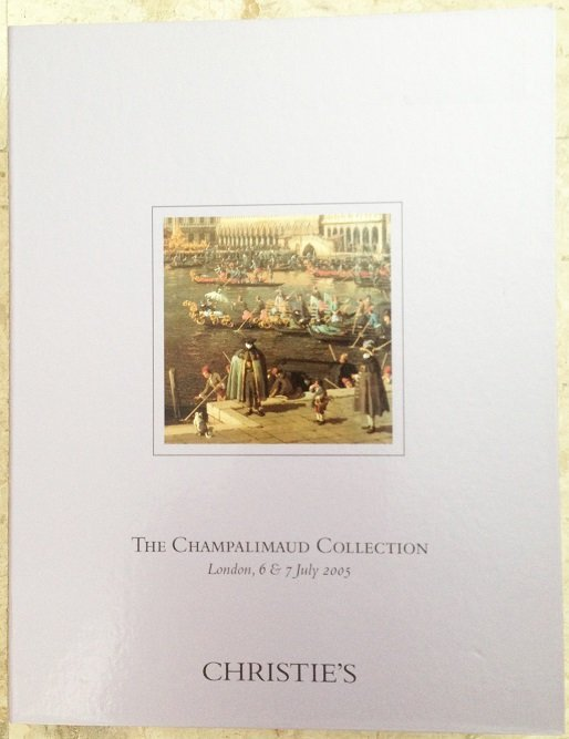 The Champalimaud Collection Christies 2 Part Catalog
