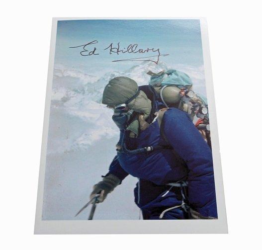 Edmund Hillary (1919-2008) New Zealand Mountaineer