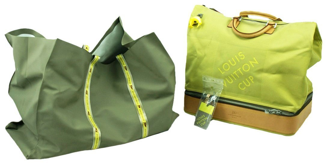 Limited Edition Louis Vuitton America`s Cup Travel Bag