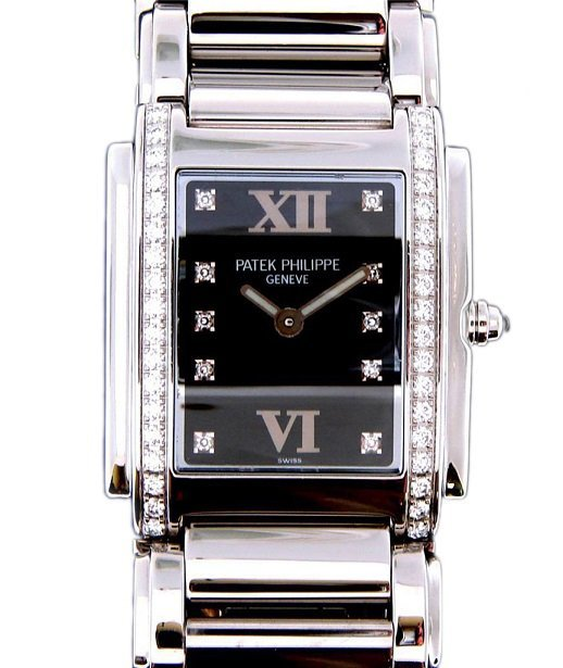 Stainless Steel Patek Philippe Ladies 24 Watch With