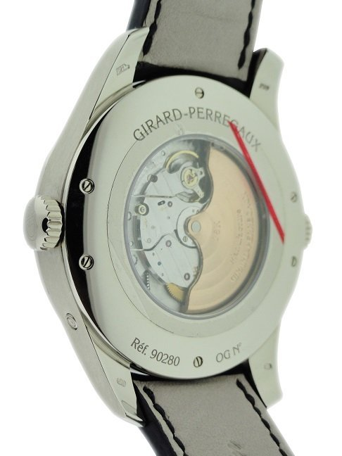 18k White Gold Girard Perregaux World Time Watch - 5