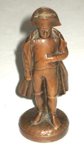 Bronze figurine of Napoleon,