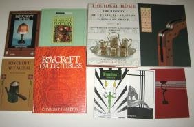 Group of nine books on arts and crafts