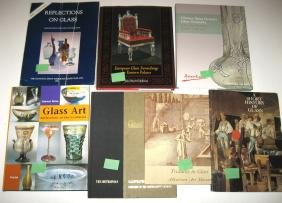 Group of seven books on History of Glass