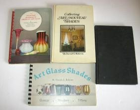 Four early books on Art Glass,