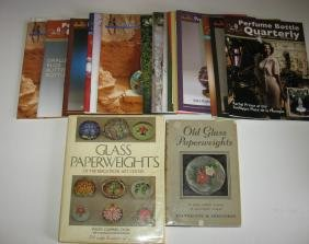 Books and magazines paperweights/perfumes,