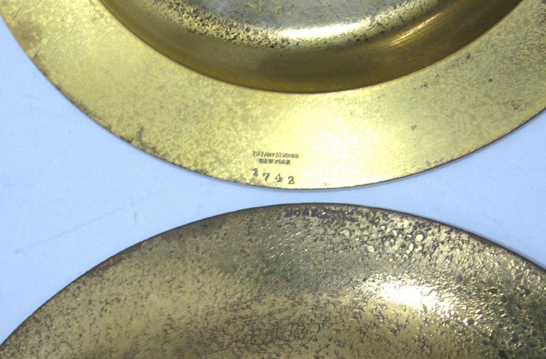 Three Tiffany and Company bronze items, - 2