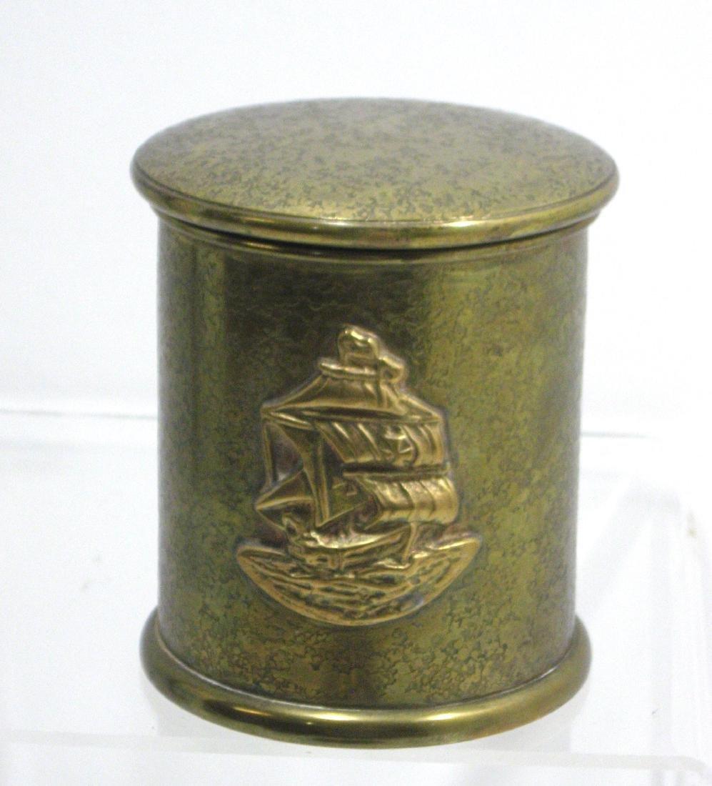 Three Tiffany and Company bronze items, - 5