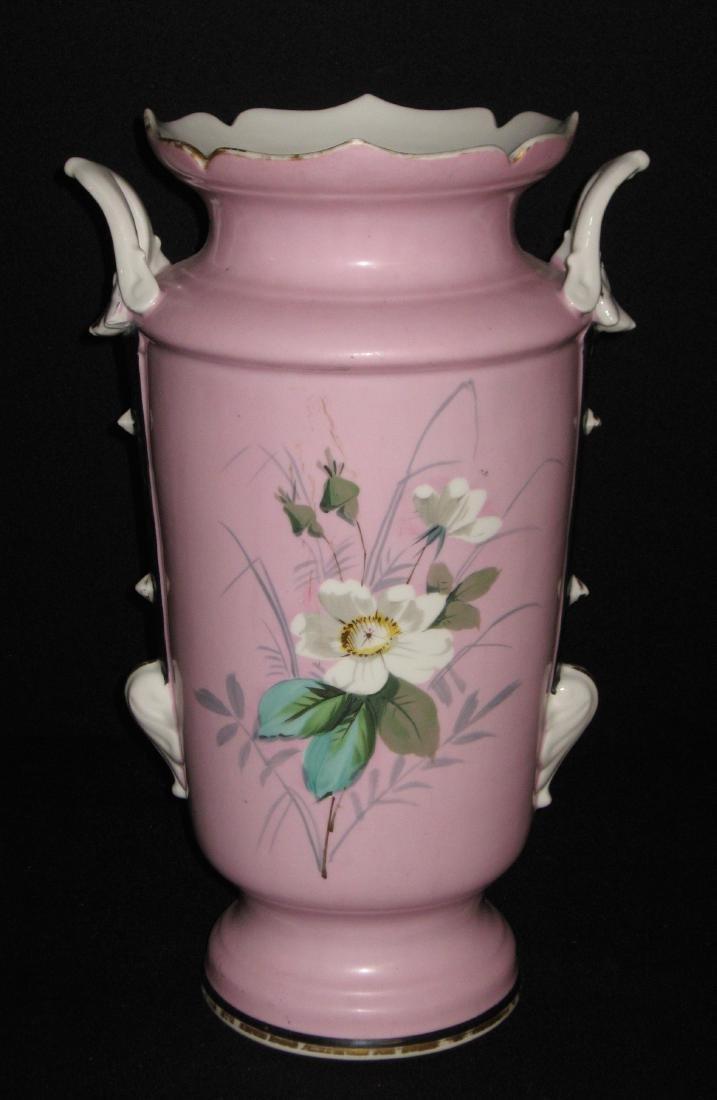 Old Paris porcelain urn - 3