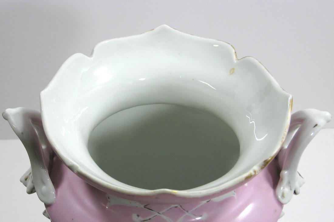 Old Paris porcelain urn - 6
