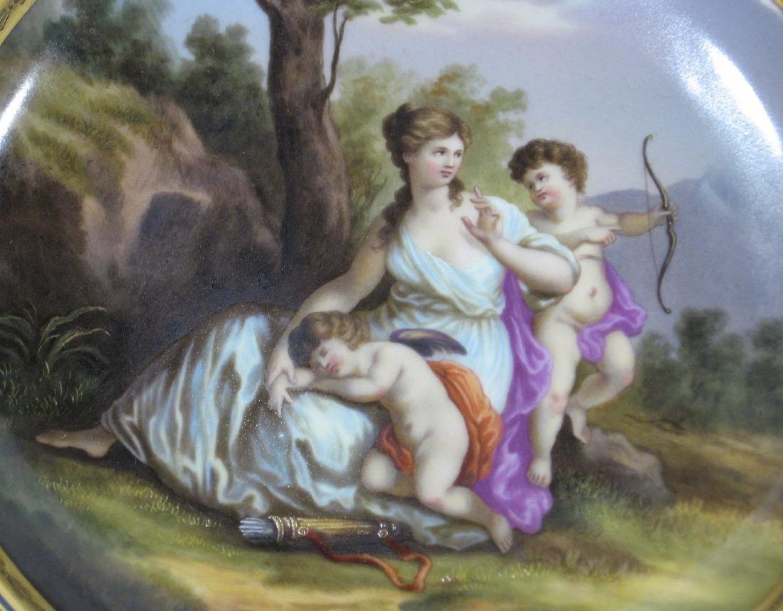 Royal Vienna allegorical plate, - 5