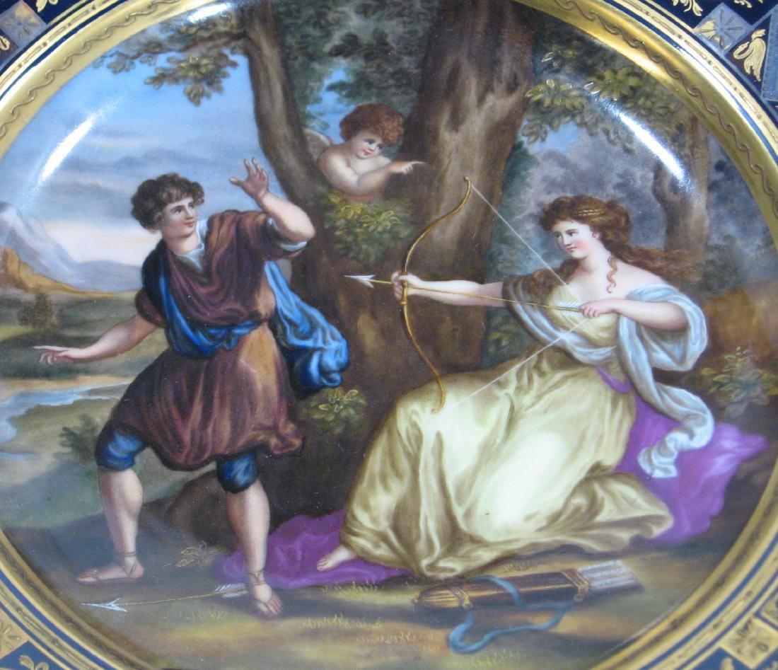 Royal Vienna allegorical plate, - 3