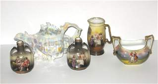 Group of Royal Bayreuth porcelain items,