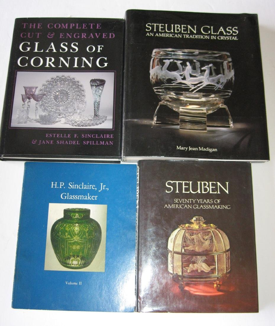Four books on Steuben and Sinclaire,