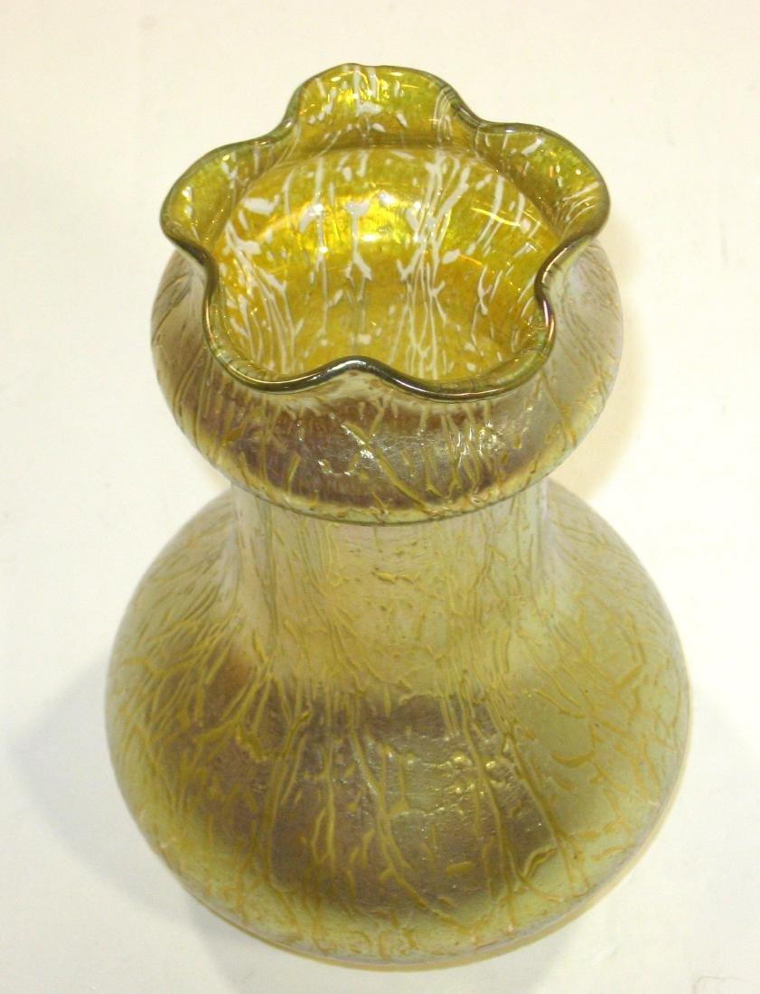 Loetz art glass vase, - 4