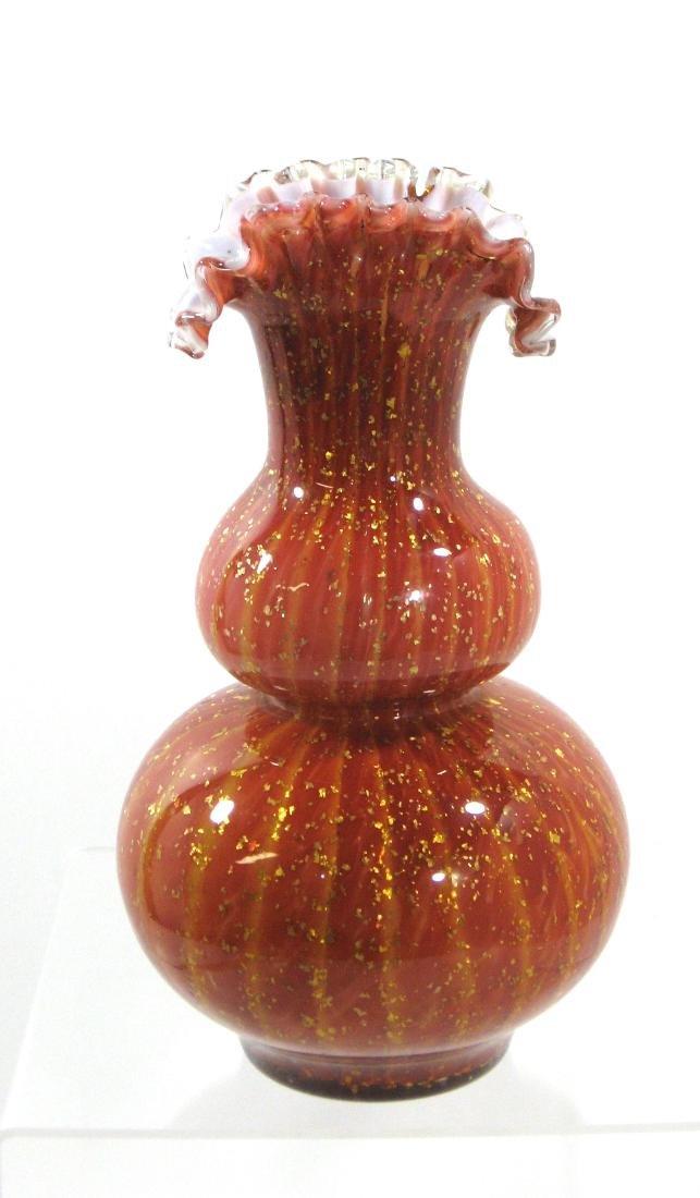 Stevens and Williams glass vase, - 2