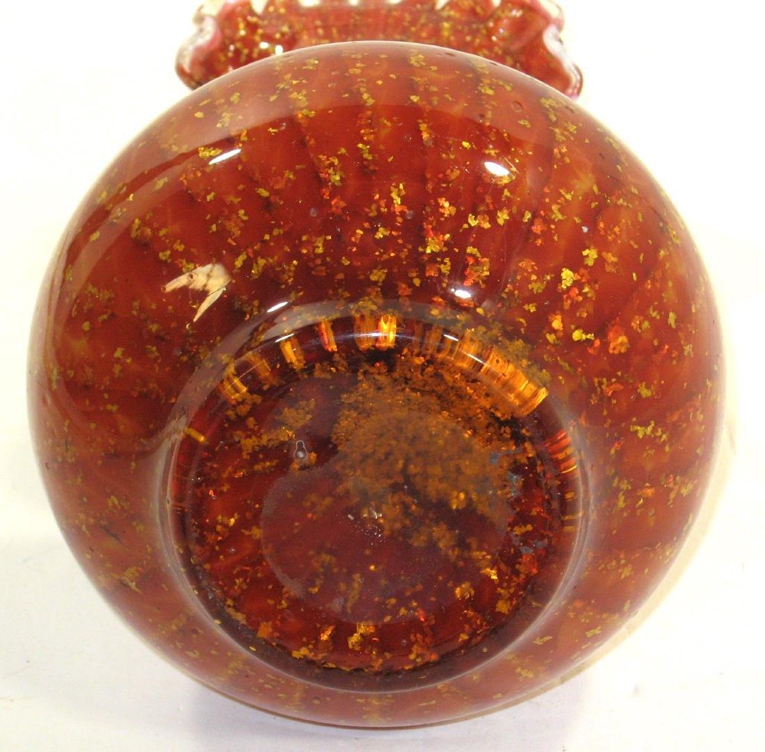 Stevens and Williams glass vase, - 4