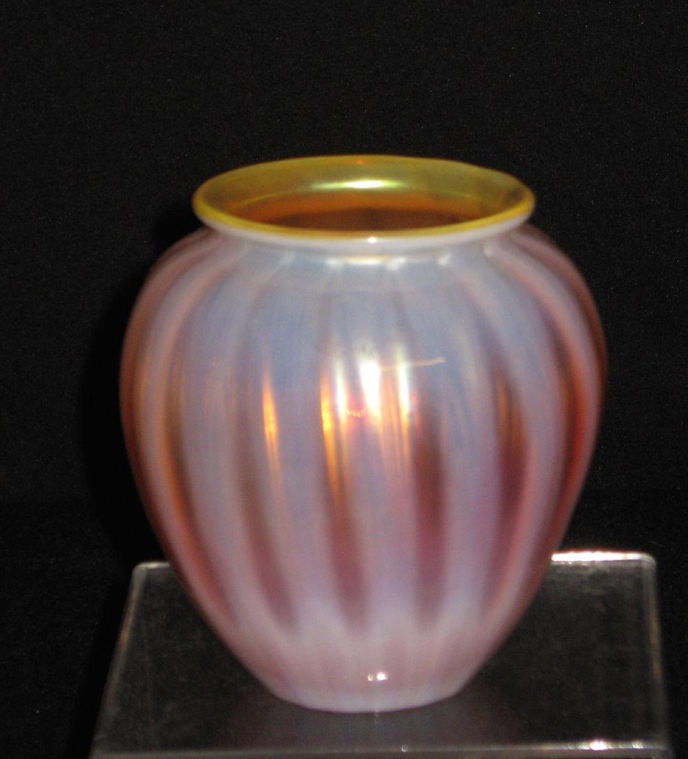 Monet and Stumpf glass vase