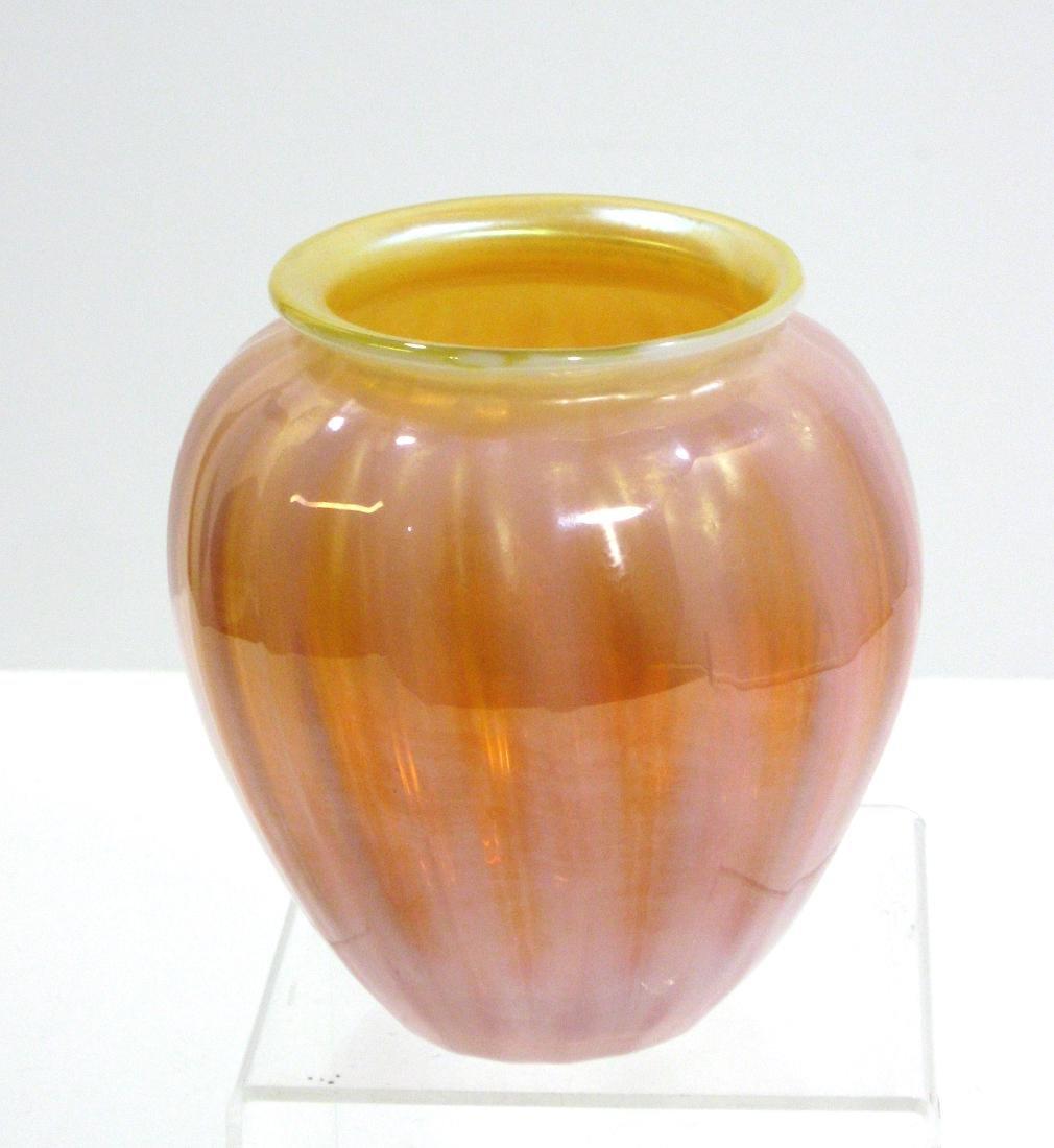 Monet and Stumpf glass vase - 2