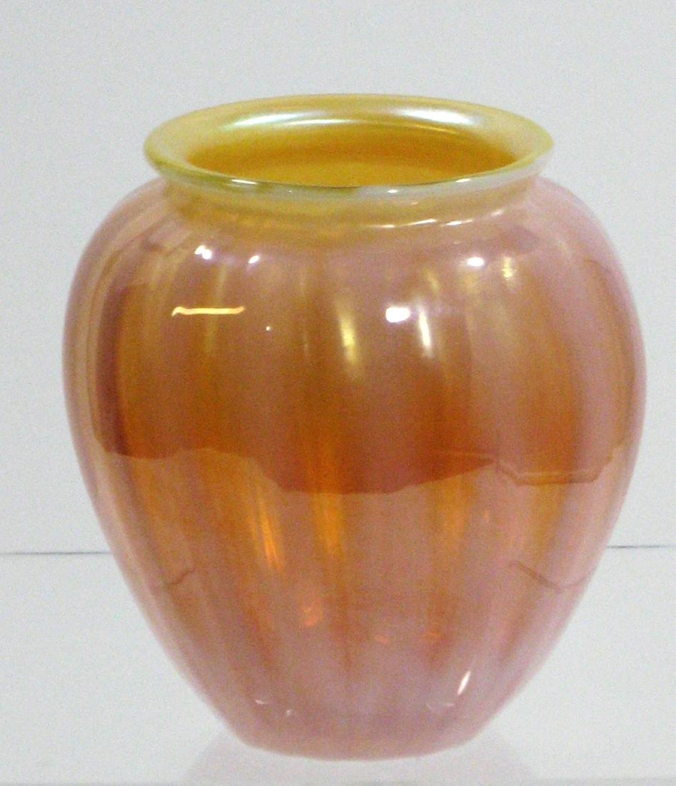 Monet and Stumpf glass vase - 3