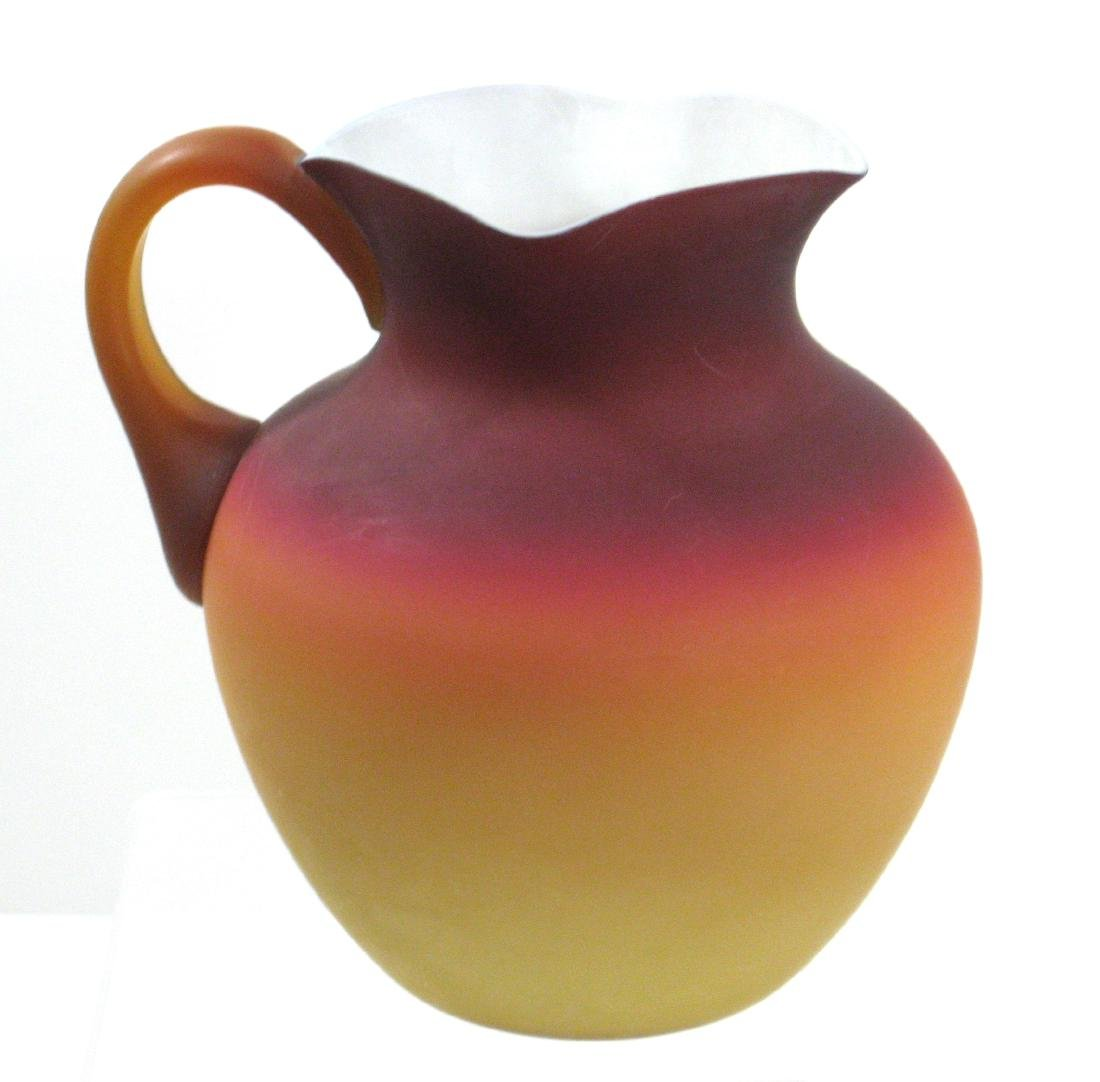 Wheeling Peachblow Water Pitcher - 2