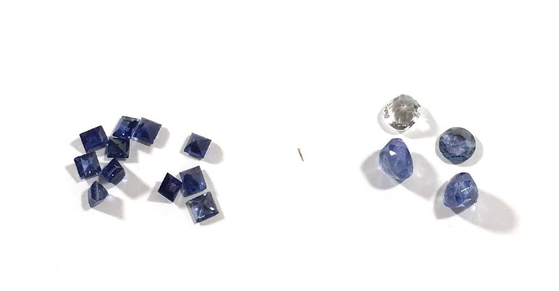 Group of Sapphires, - 2