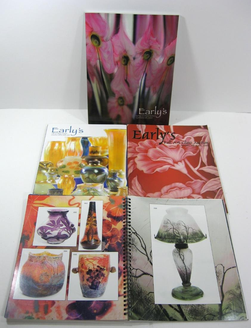 Group of eight Early's Catalogs, - 4