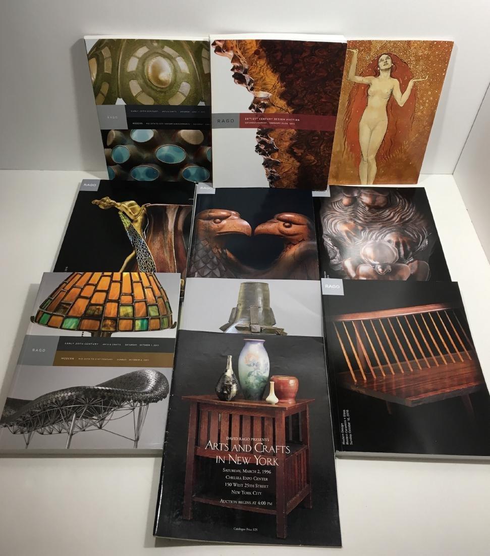 10 Rago 20th century catalogs