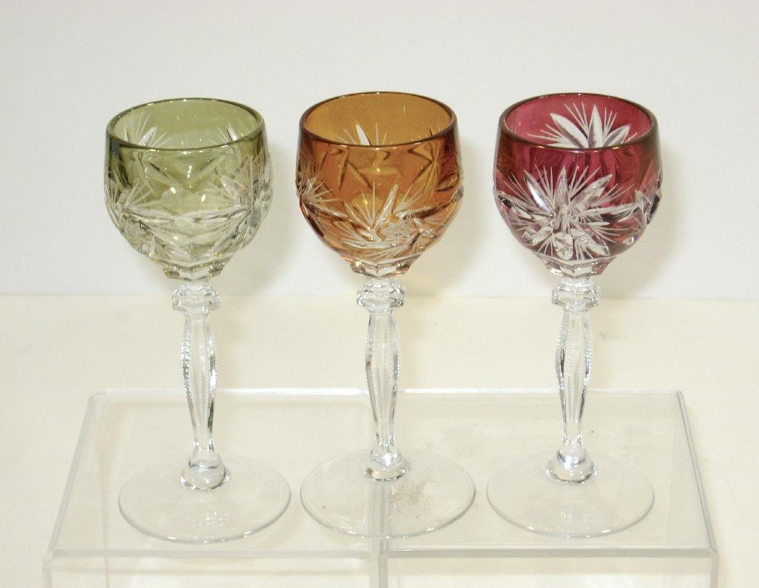 Group of glass bar and drinking items - 4