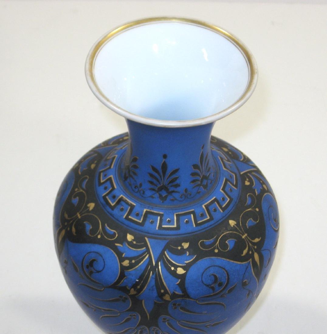 Richardson opaline glass vase, - 3