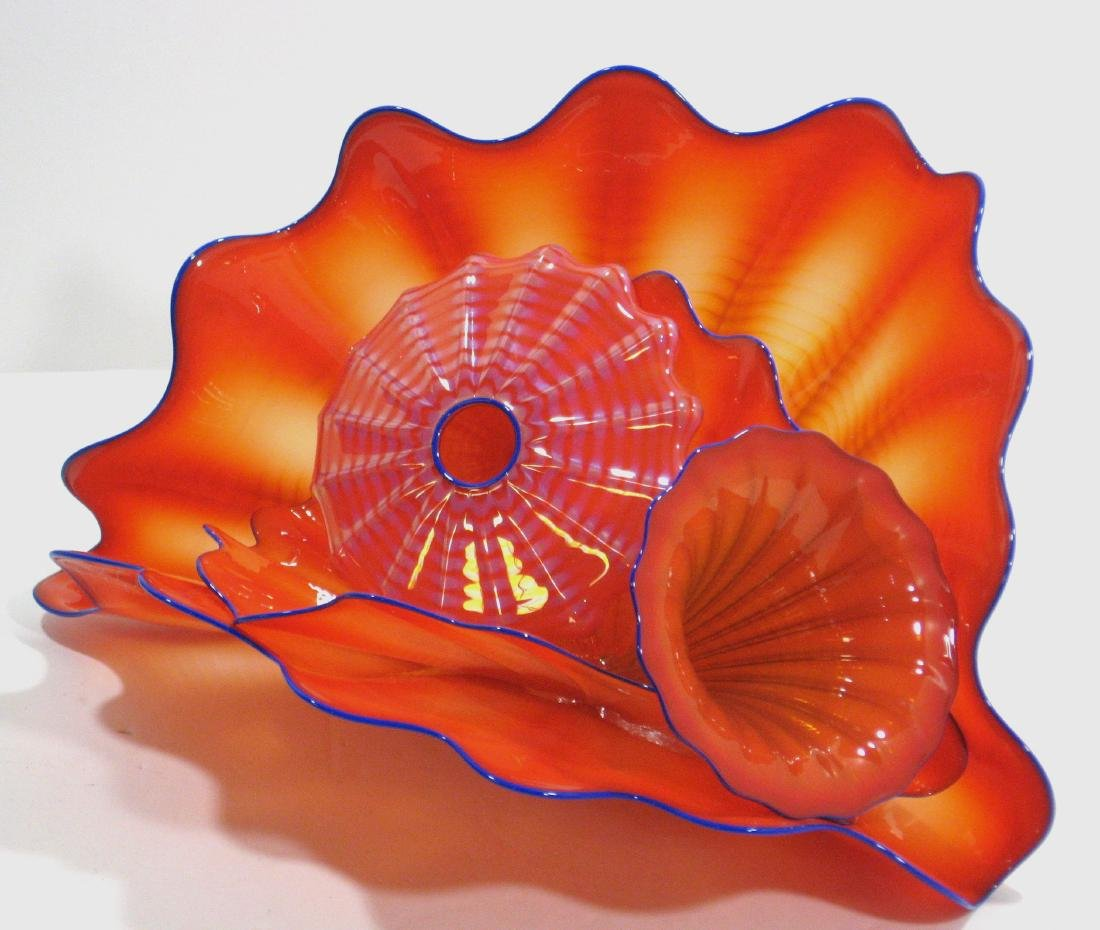 Dale Chihuly four piece Persian glass