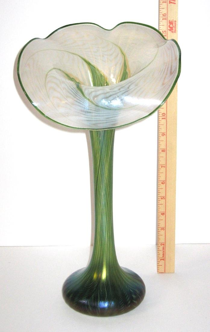 Lundberg Art Glass jack-in-the-pulpit, - 2