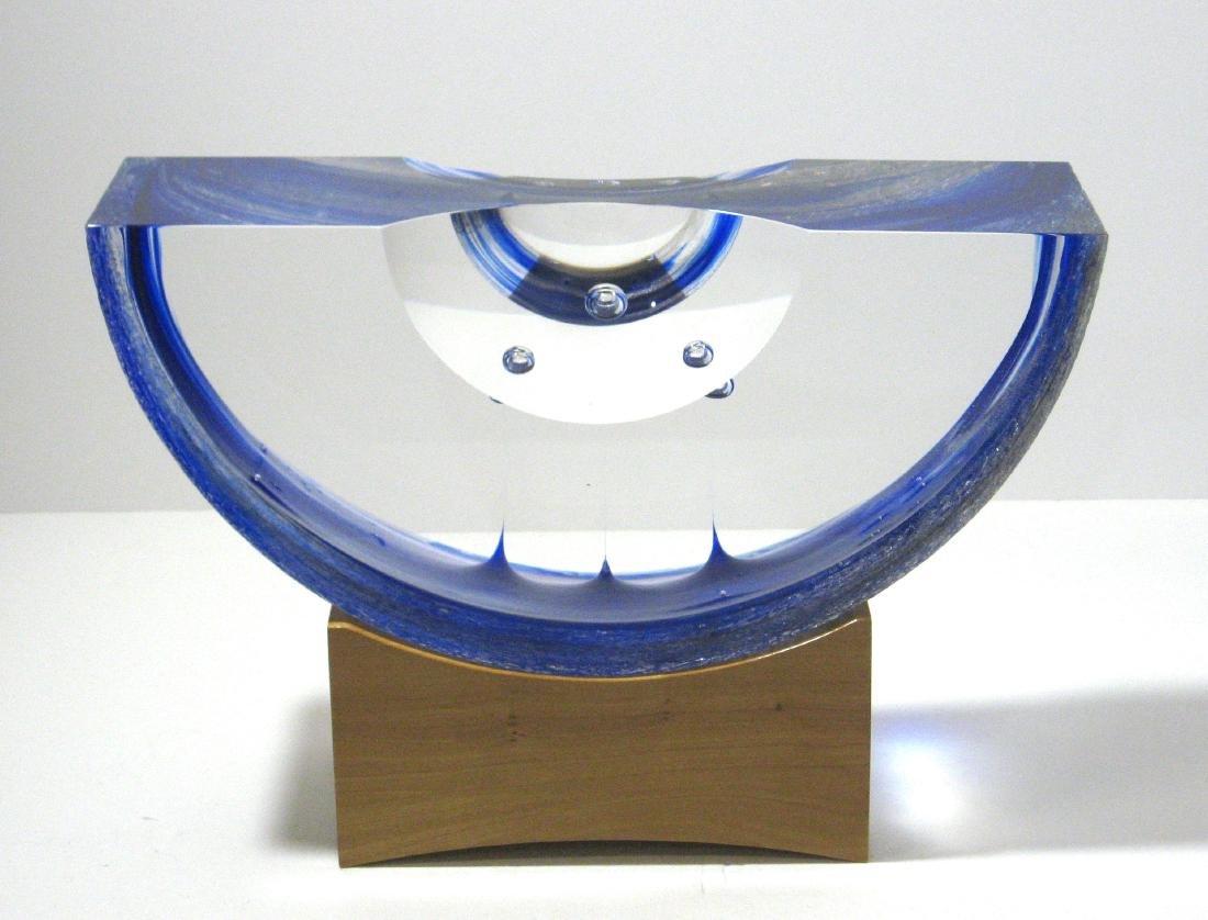 Steven Weinberg glass sculpture,