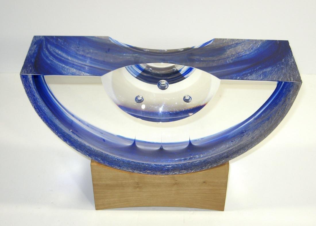Steven Weinberg glass sculpture, - 2