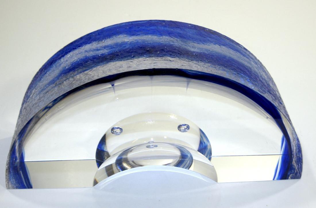 Steven Weinberg glass sculpture, - 3