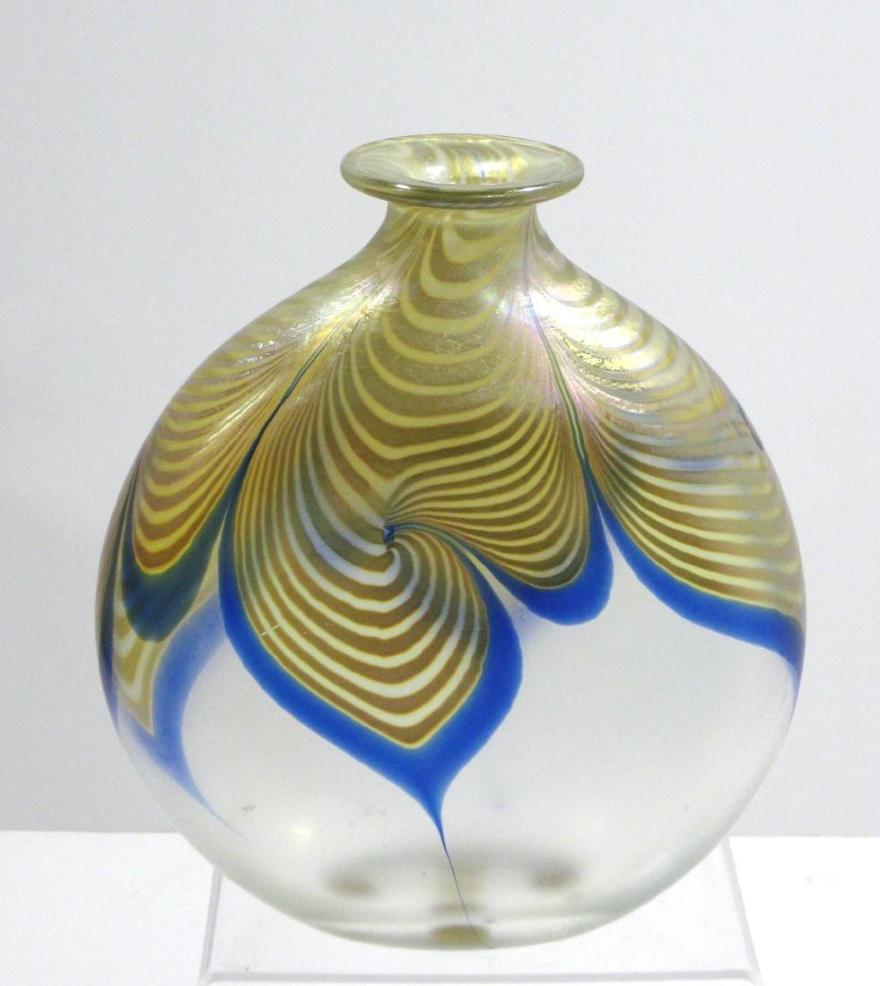 Steve Correia art glass vase