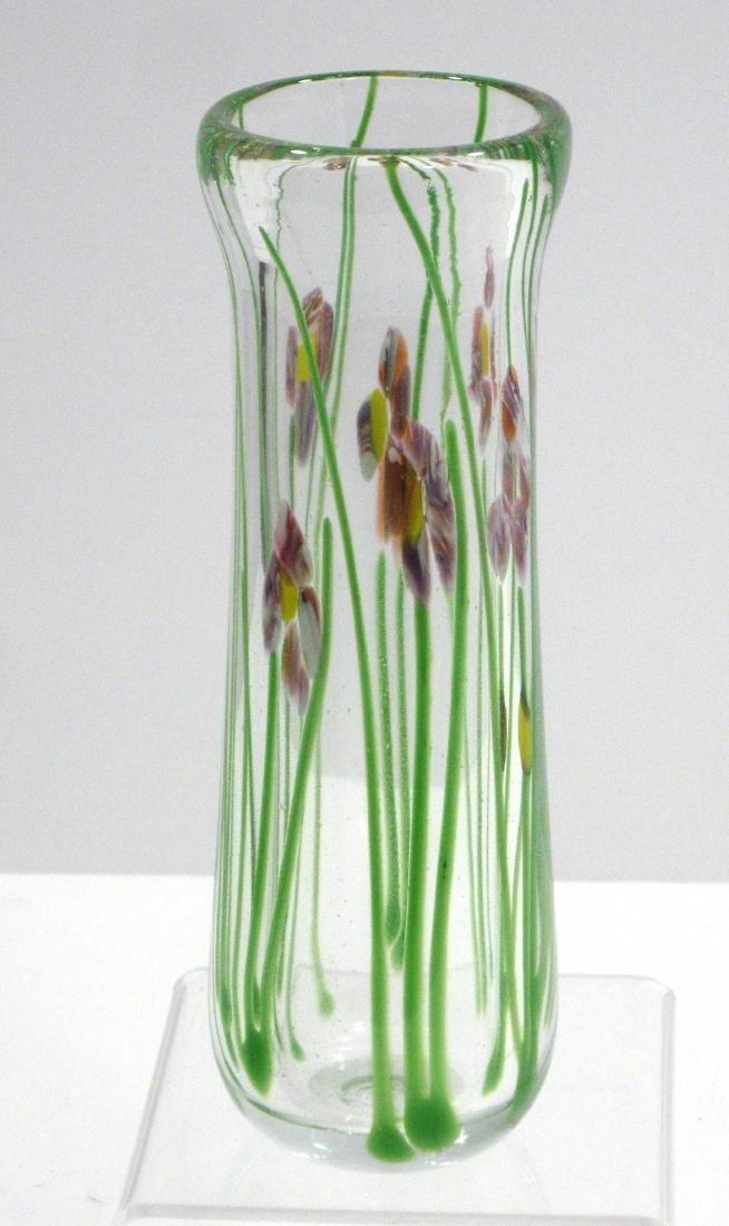 Eicholt paperweight glass vase,