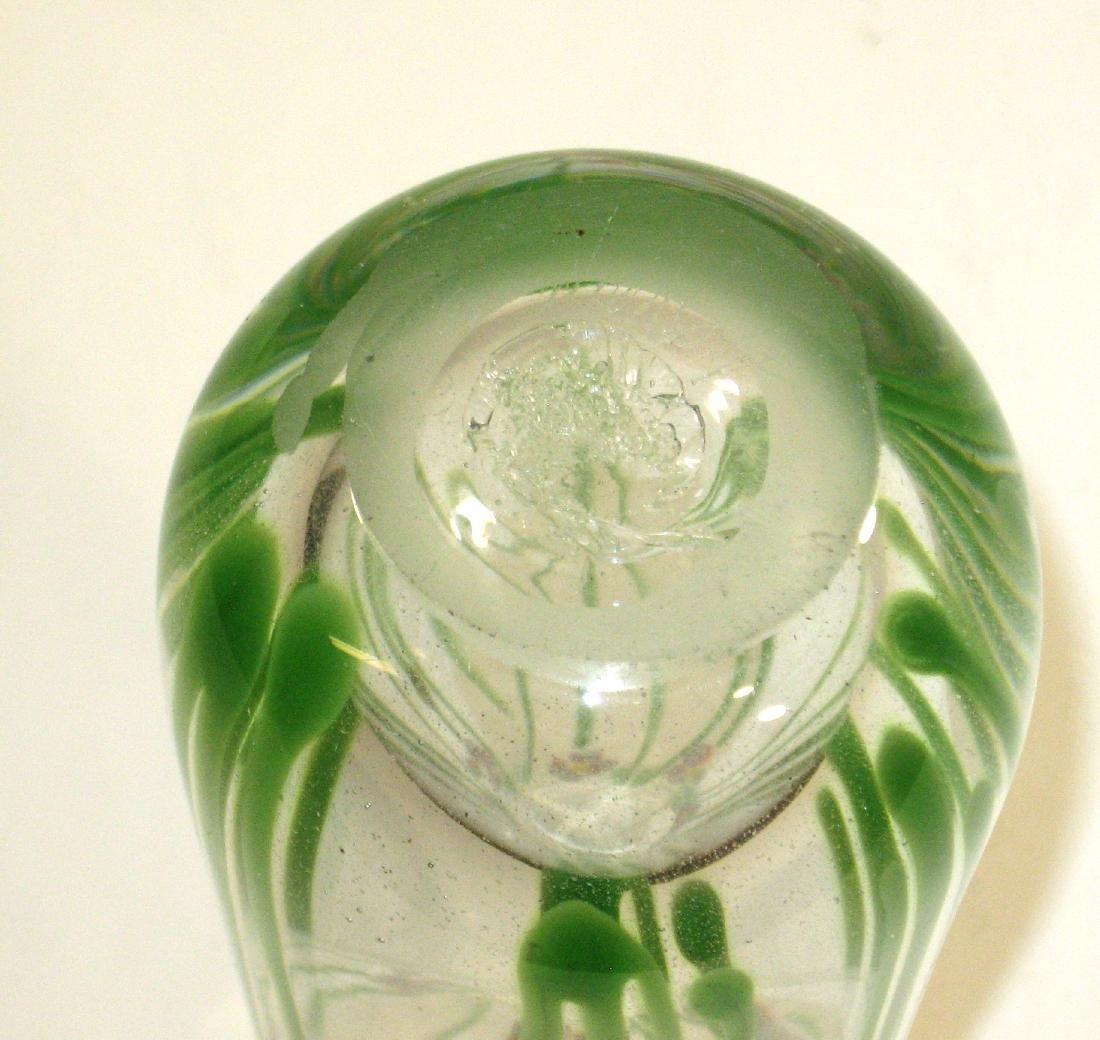 Eicholt paperweight glass vase, - 3