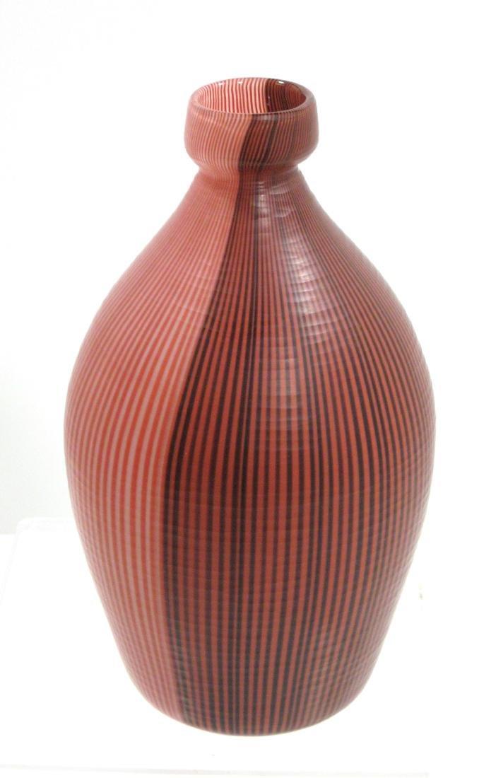 Carlo Scarpa designed Venini vase, - 3