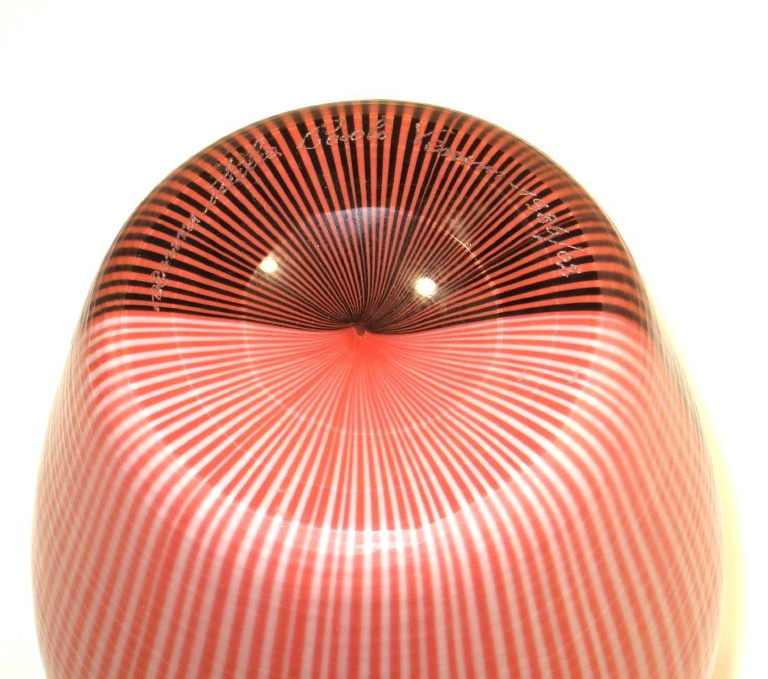Carlo Scarpa designed Venini vase, - 4
