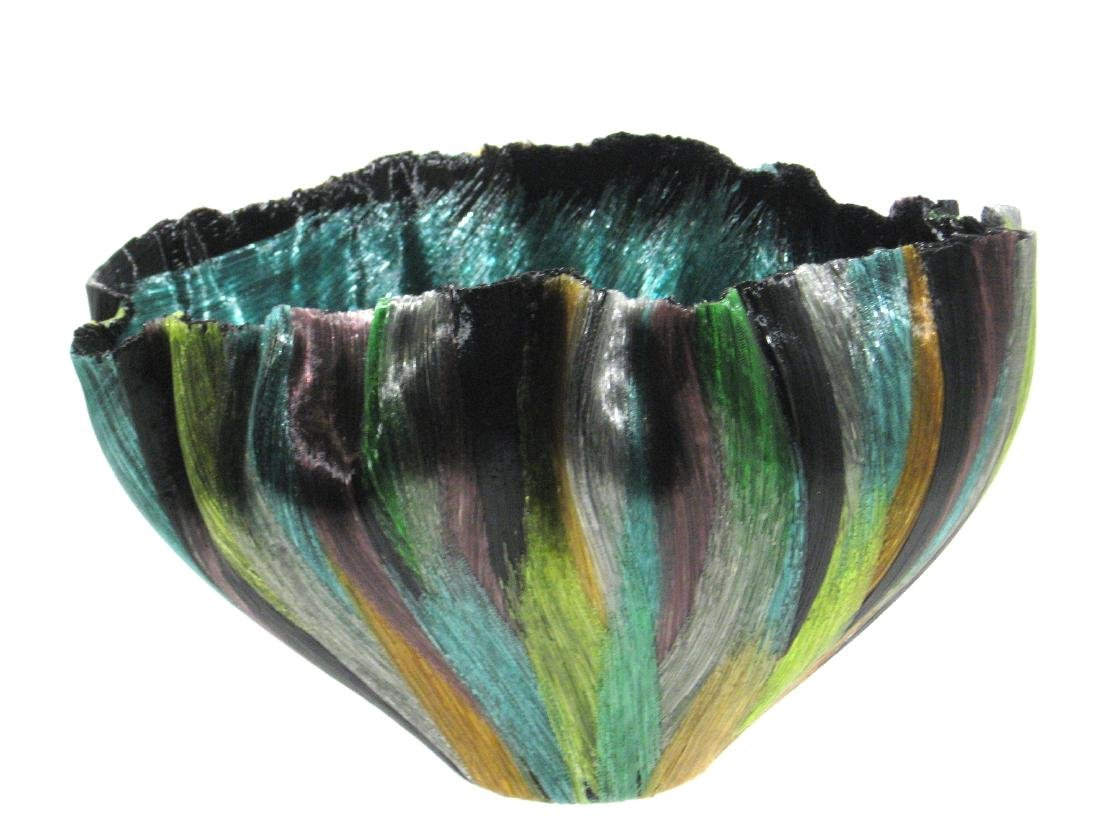 Toots Zynsky Art Glass bowl