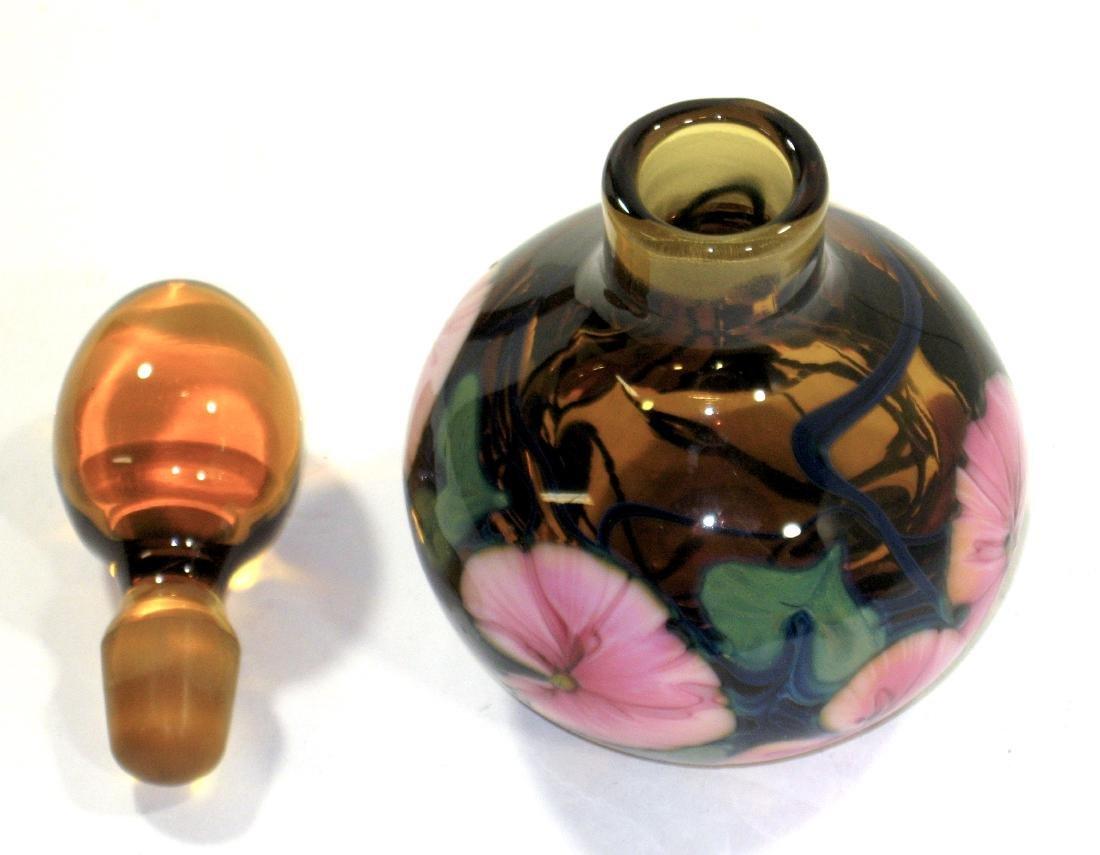 Charles Lotton amber glass perfume - 3