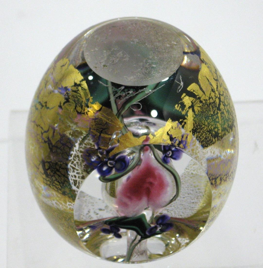 Rich Gibbons glass perfume bottle, - 4