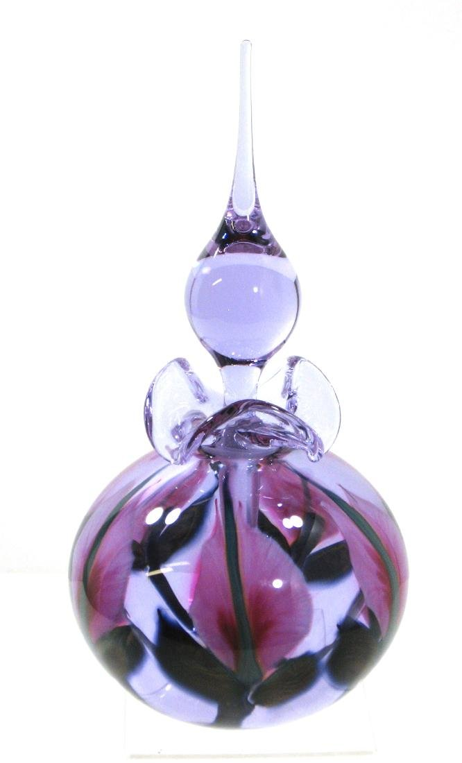 Large Daniel Lotton perfume bottle,