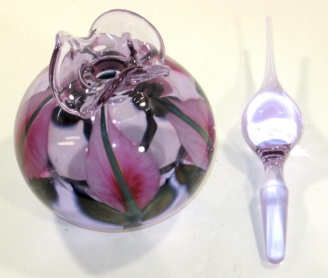 Large Daniel Lotton perfume bottle, - 2