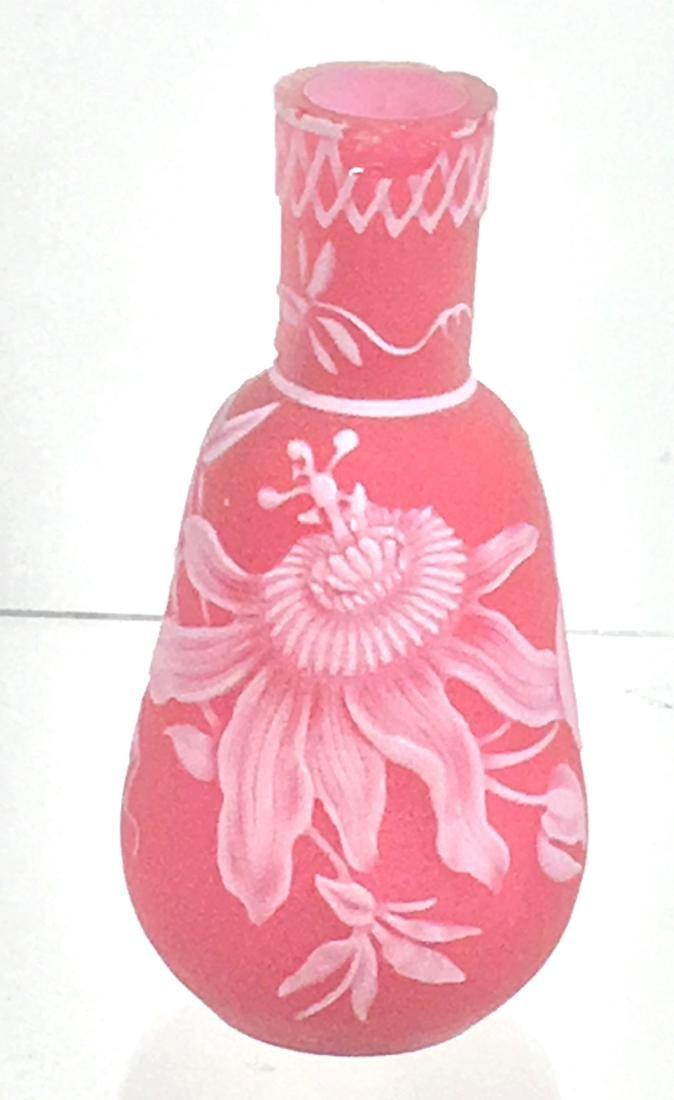 Webb English cameo vase,