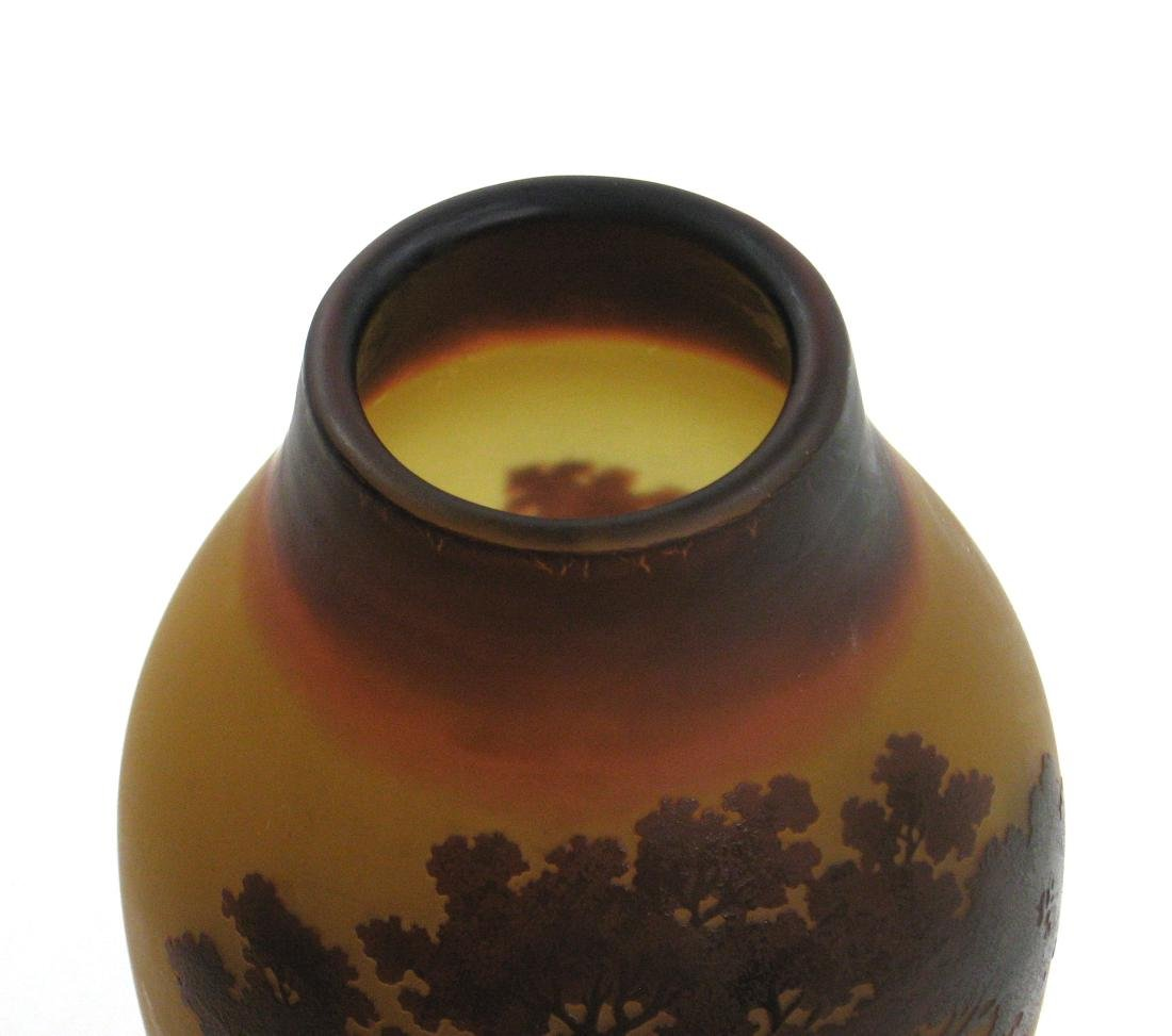 D Argental French cameo vase, - 5
